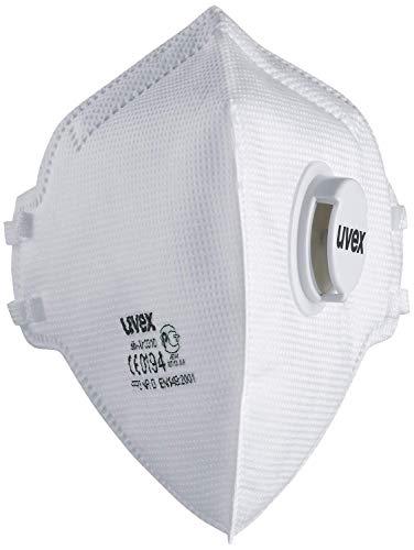 15 Stück uvex Silv-Air 3310 - FFP3 NR D Staubmaske mit Ventil
