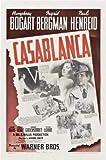 Casablanca - Humphrey Bogart – Film Poster Plakat Drucken