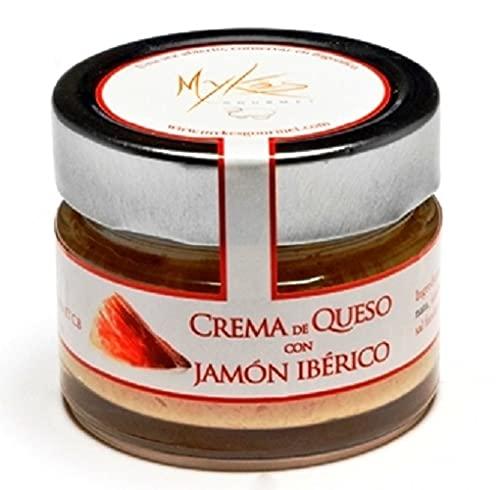 Mykés Gourmet Crema de queso puro de Oveja con Jamón Ibérico 420 g
