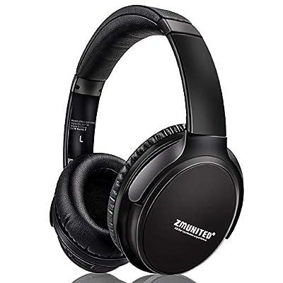 ZMYGOLON Active Noise Cancelling Headphones Wir...