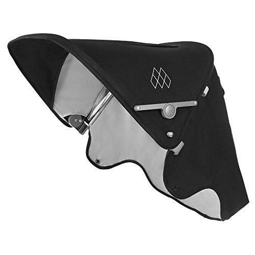 Maclaren Techno XLR Capucha Extensible UPF50 + / Impermeable que se adapta a los Buggies Techno XLR, Negro