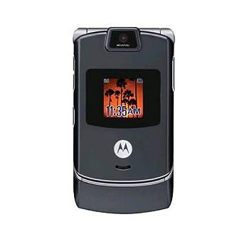 Motorola V3c Razr Cell Phone Camera Bluetooth for Verizon  Gray