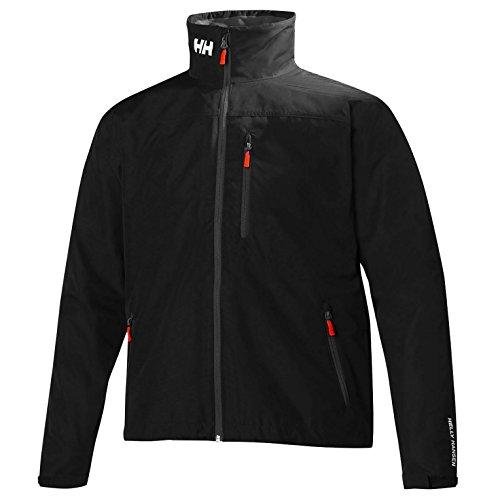 Helly Hansen Crew Jacket Veste Nautique Homme, Noir, 2XL