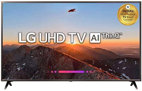 LG 138 cm (55 Inches) 4K LED Smart TV 55UK6360PTE (Black) (2018 Model)