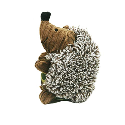 Soft Hedgehog Sheep Shape Pet Chew Toys Honden Sound Dog Toy, Pet Chew Squeaker Squeaky Plush Toy