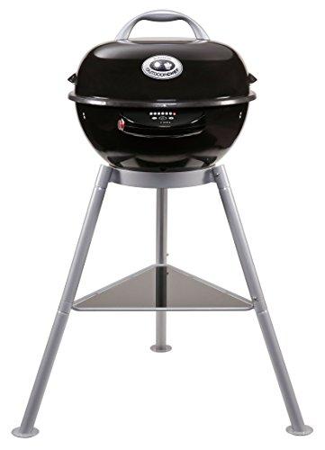 Outdoorchef Elektrogrill City 420 E – Elektro Kugelgrill für saftige Steaks – BBQ Grill für Balkon, Terrasse und Camping – Ø 42 cm mit 2.0 kW