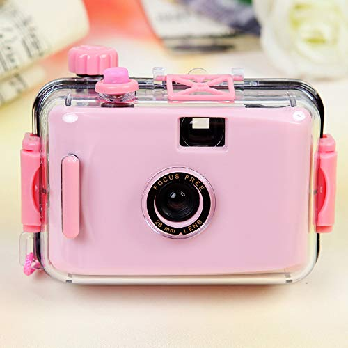 XINJIA Disposable Film Camera,Film Camera,Childrens Camera Non-Disposable Camera Film Camera LOMO Camera Waterproof and Shockproof (no Battery Required)