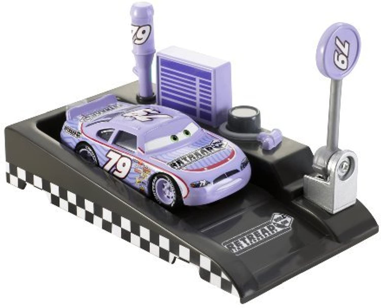 Disney Pixar Cars Pit RaceOff Retread With Launcher by Mattel