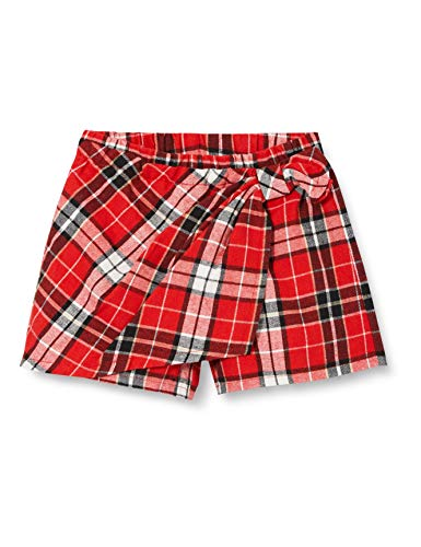 Chicco Baby-Mädchen Gonna Pantalone Shorts, Rosso, 68
