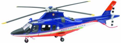New Ray 25543–Sky Pilot Agustawestland Aw109Katastrophenschutz, Maßstab 1: 43, Die Cast