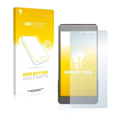 upscreen Entspiegelungs-Schutzfolie kompatibel mit Archos 55 Cobalt+ – Anti-Reflex Bildschirmschutz-Folie Matt