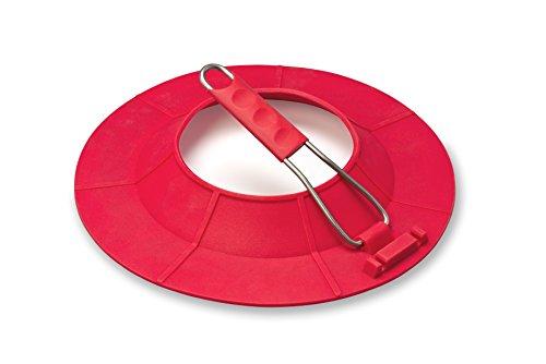 JAZ Innovations Splatter Guard Pro, One Size, Red