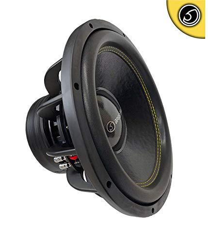 "Bassface SPL15.2S 15"" Inch 38cm 4200w Car Subwoofer 2x2Ohm DVC Sub Woofer SPL SQ"