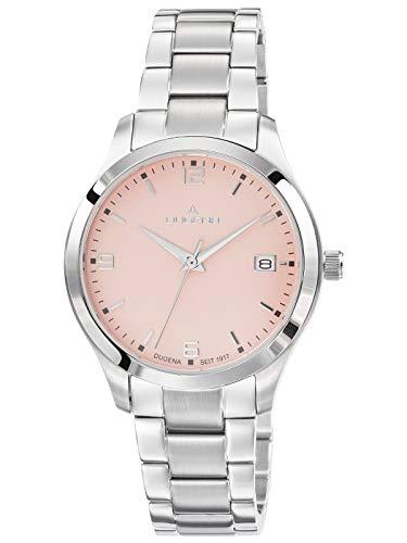 Dugena Damen Quarz Armbanduhr Tresor Woman - Traditional Classic Line Rosa 4461000