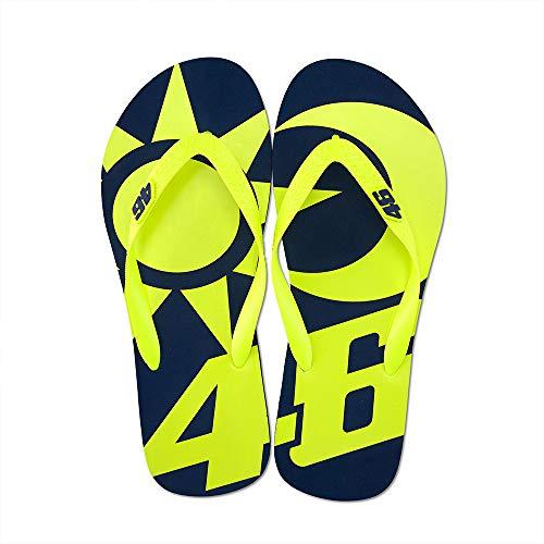 Valentino Rossi Vr46 Classic-Accessories, Sandali Unisex Adulto, Multicolore, 43/44
