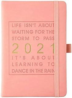 WOIA 2021, páginas internas en inglés, Agenda Personal, Agenda, Agenda, Cuaderno, Rosa