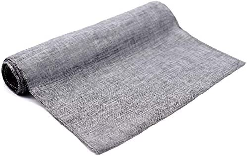Table All stores are sold Cover 1pcs Rustic Runner Imitated Natural Tabl Linen Philadelphia Mall
