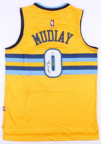 Emmanuel Mudiay Autographed Signed Denver Nuggets Adidas NBA Jersey (JSA COA) 7Th Pick 2015