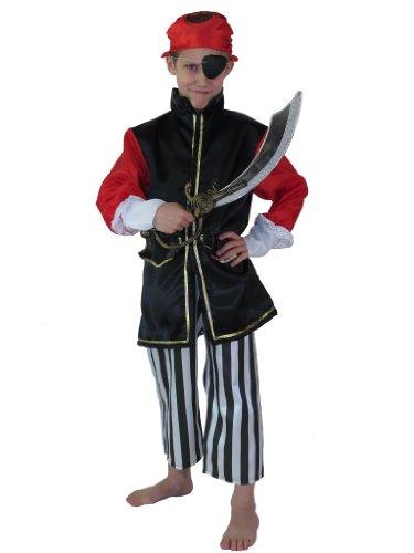 Panache Blanc - Costumes - Tunique Et Accessoires - Corsaire 6/8 Ans