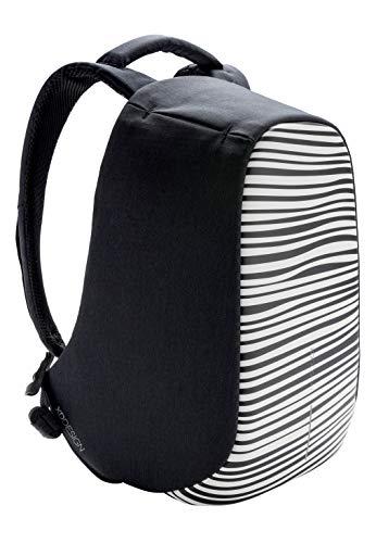 XD Design Bobby Compact Print Zaino Antifurto Zebra Portatile con USB