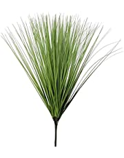 造花 インテリア ホームデコレーションタマネギ草シミュレーションリーフガーデンインテリア64センチメートル人工葉芝生エンジニアリングフェイクフラワー植物を配置 人工観葉植物