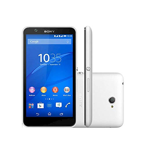 Xperia E4 Dual Chip 3G Android 4.4 5Mp 5'' Quad Core Tv Branco E2124 Sony