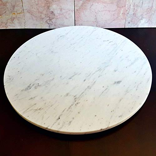 Luka Marble Designslarge Marble Lazy Susan Turntable Rotating Tray Dining Table Centerpiece Serving Plate 24 26 28 Inch Dailymail