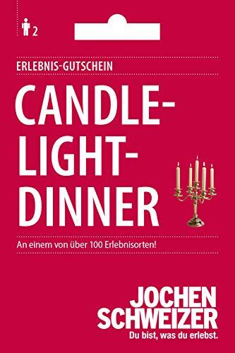 Jochen Schweizer Erlebnis-Gutschein 'Candle-Light-Dinner für 2', über 100 Erlebnisorte, für 2 Personen, Geschenk für Paare