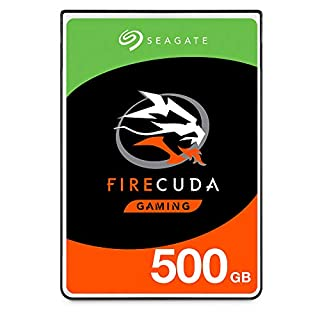 Seagate FireCuda, 500 GB, Disco duro interno híbrido, SSHD de alto rendimiento, 2,5 in, SATA, 6 Gb/s, aceleración mediante flash, caché de 8 GB para videojuegos, PC y portátiles (ST500LX025) (B01LZM5R0O) | Amazon price tracker / tracking, Amazon price history charts, Amazon price watches, Amazon price drop alerts