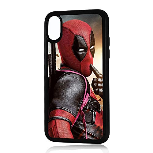 ( For iPhone X ) Durable Protective Soft Back Case Phone Cover - HOT30023 Deadpool