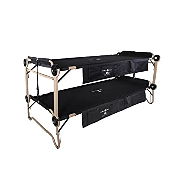 Disc-O-Bed 2XL with Organizers, Black, 30507BO