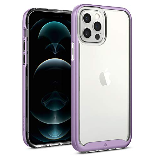Caseology Skyfall Compatible with iPhone 12 Pro Case Compatible with iPhone 12 Case (2020) - Lavender