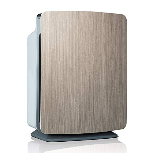 Alen BreatheSmart FIT50 Air Purifier for Bedrooms, Living Rooms, Offices, 900 SqFt. Coverage Area, True HEPA Filter for Germs, Mold, Bacteria, Dust, Allergies, Large Room Air Cleaner, Weathered Gray