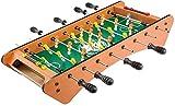 Qjkmgd Mesa de fútbol Mac - Mesa de futbolín, Mini Tablero de Mesa Accesorios de Juego de Billar Tableros de fútbol Juegos de Competencia Juegos Deportivos Noche de la Familia