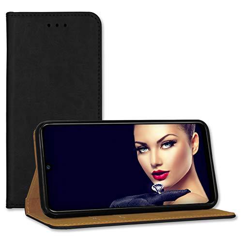 mtb more energy Funda de piel tipo libro para Xiaomi Redmi 9A (6,53 pulgadas), color negro