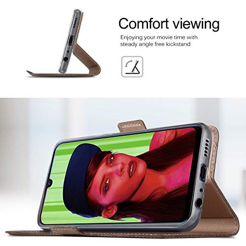 GEEMAI für Huawei P Smart Plus 2019 Hülle, für Honor 20 Lite Hülle, handyhüllen Flip Hülle Wallet Stylish mit Standfunktion und Magnetisch PU Schutzhülle passt für Huawei P Smart+ 2019 Phone, Rosegold - 6