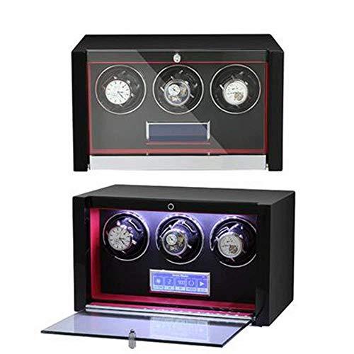 GFF Vibrationsbildschirm Uhr Mechanische Tischdrehbox Automatische Wickelbox Plattenspieler Uhrenbox Schwingtisch Haushalt