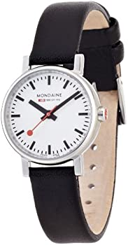 Mondaine Evo Petite White Dial Ladies Watch