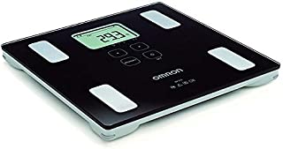 Omron Body Fat Composition measuring unit and Weight Scale BF 214