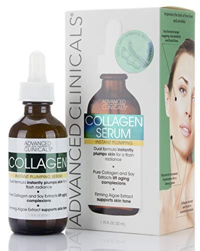 Advanced Clinicals Collagen Facial Serum