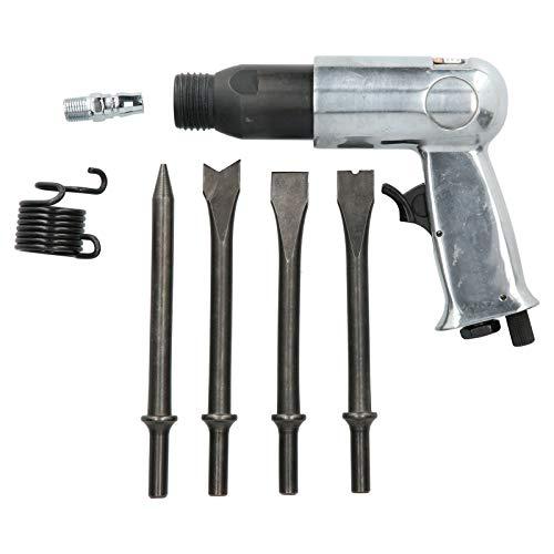 Pala neumática de 3000 rpm, martillo neumático de aleación de acero con 4 cinceles Juegos de herramientas de selección neumáticas OW ‑ 190