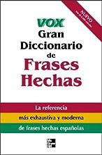 Vox Gran Diccionario de Frases Hechas