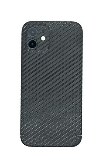 REUTERSON Apple iPhone Carbon Cover I Echte Carbon Handy-Hülle Carbon-Hülle iPhone I Ultradünne Carbon Schutzhülle stoßfest I präzisen Aussparungen (iPhone Magnetic Carbon Cover, iPhone 12 Mini)