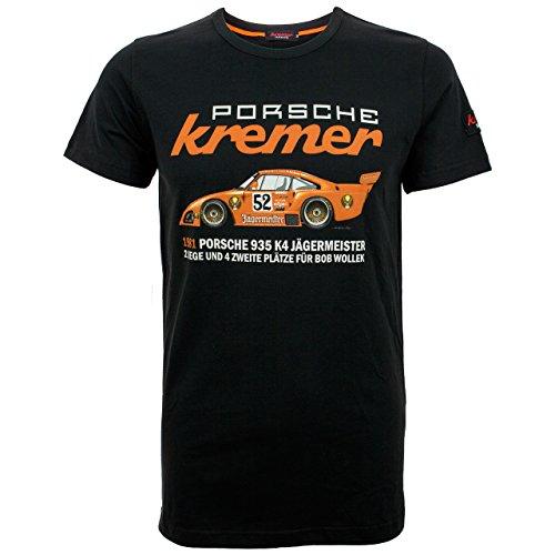 MBA-SPORT T-Shirt Kremer Racing Porsche 935 K4 Schwarz