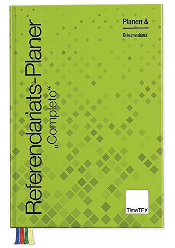 TimeTEX Completo - Referendariats-Planer A4-Plus - Schulplaner für Referendare - Laufzeit 18 Monate - Lehrerkalender - Lehrertimer - 10573