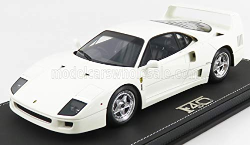 BBR-MODELS 1/18 Ferrari F40 1987 AVUS Blanco P18167B-VET