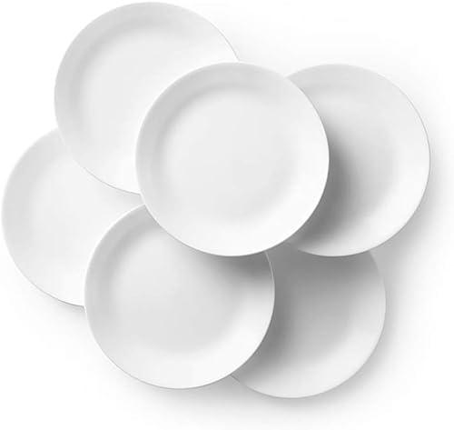 Corelle Livingware Dinner Plates Set (6-piece set), Winter Frost White, 26cm product image