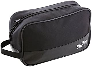 Braun Men's Travel Grooming Bag