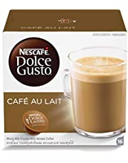 Nescafe Dolce Gusto Cafe Au Lait Coffee Capsules - 16 Capsules