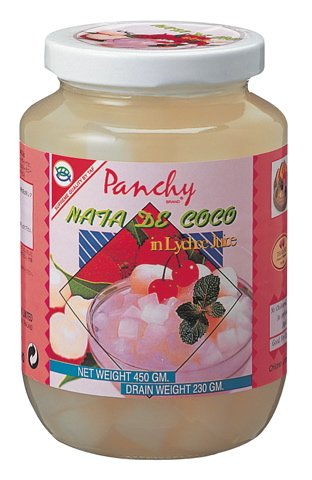 パンチー ナタデココ ライチ果汁漬け 450g×12個